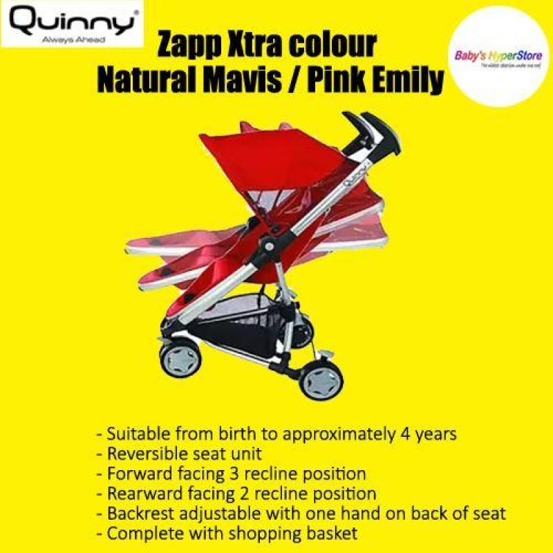 Quinny Zapp Xtra colour Natural Mavis / Pink Emily Singapore