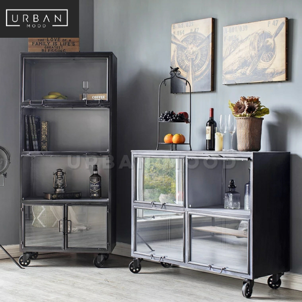 [Pre-Order] BRENTON Industrial Metal Display Cabinet