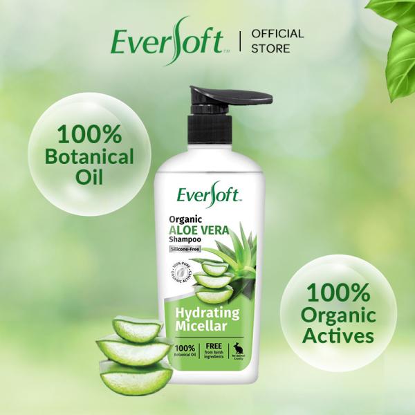 Buy 【New】EVERSOFT Organic Aloe Vera Shampoo 480ml Singapore