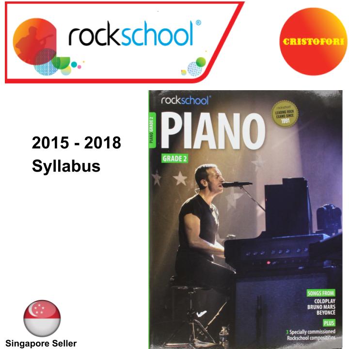 ROCKSCHOOL Piano - Grade 2 (2015 - 2018 Syllabus Book)