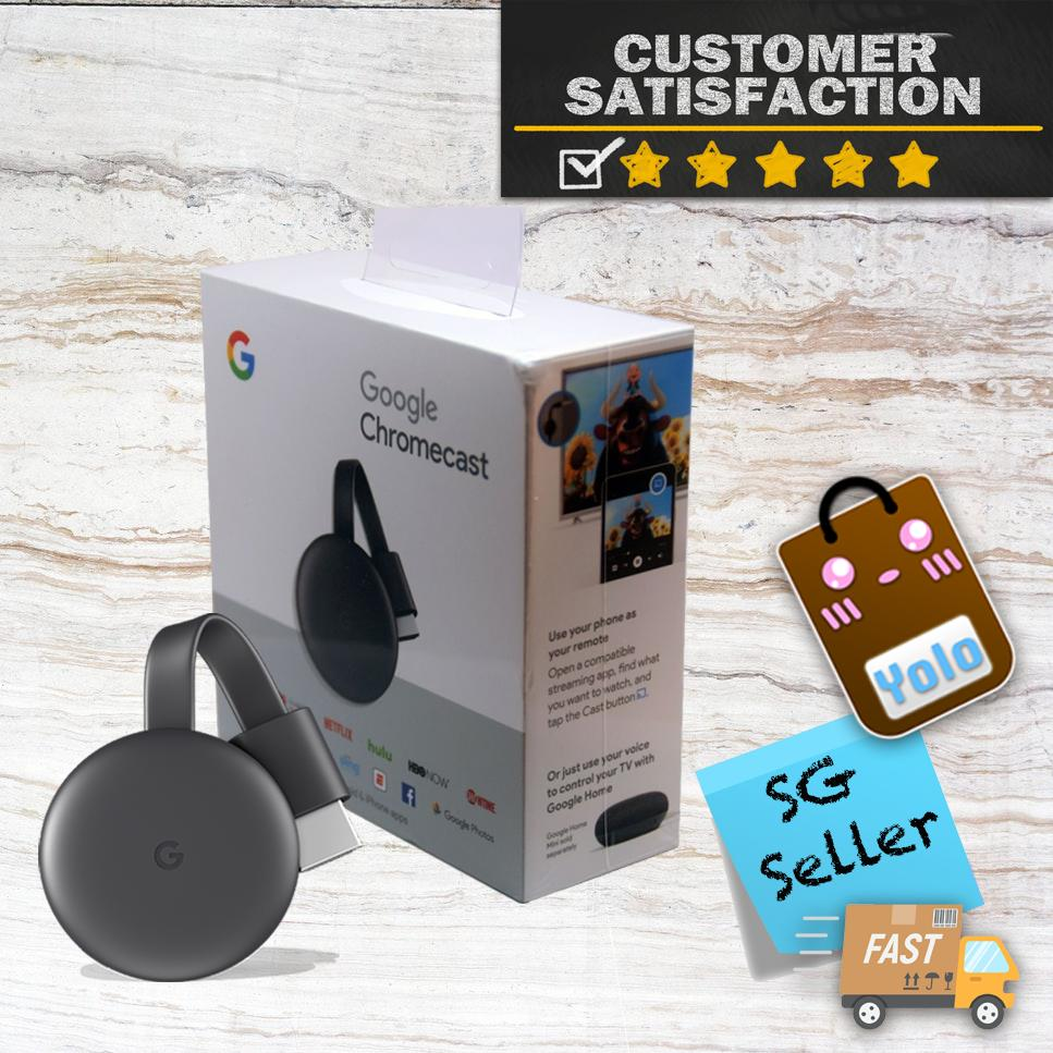 Google Chromecast 3 Latest Version - Us 2 Pin Power Plug By Yoloplaza.