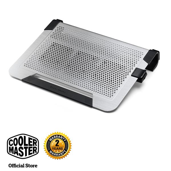 Cooler Master Notepal U3 Plus Aluminum Slim Professional Notebook Cooler (Sliver)