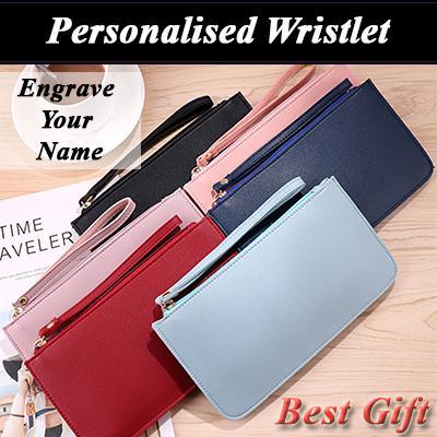 Personalised Wristlet/Pouch/Wallet/ Best Gift Idea