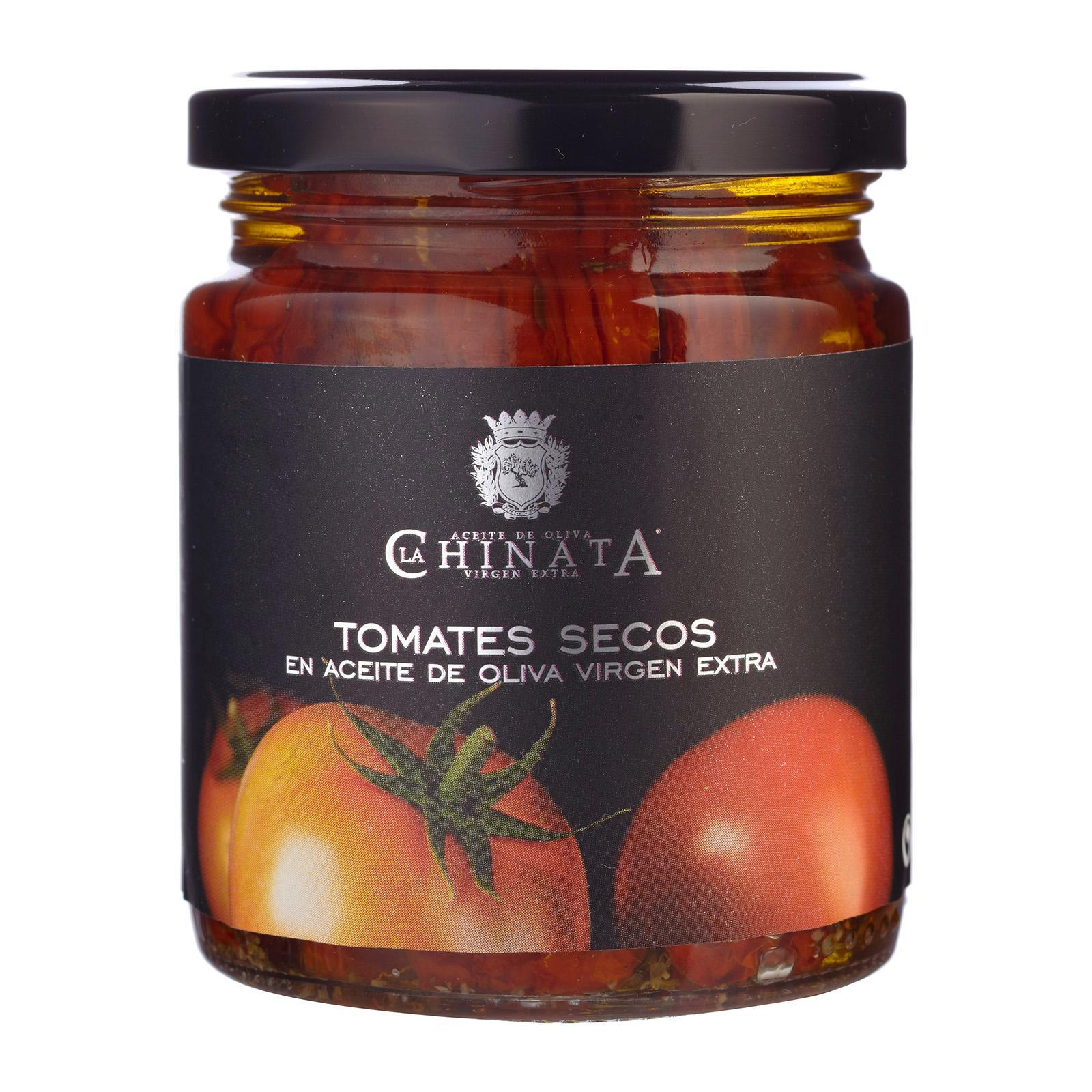 La Chinata Spanish Sun Dried Tomatoes in Extra Virgin Olive Oil - By TANINOS