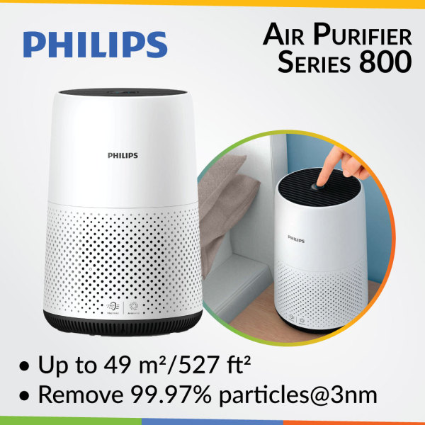 Philips Air Purifier Series 800 AC0820 Singapore