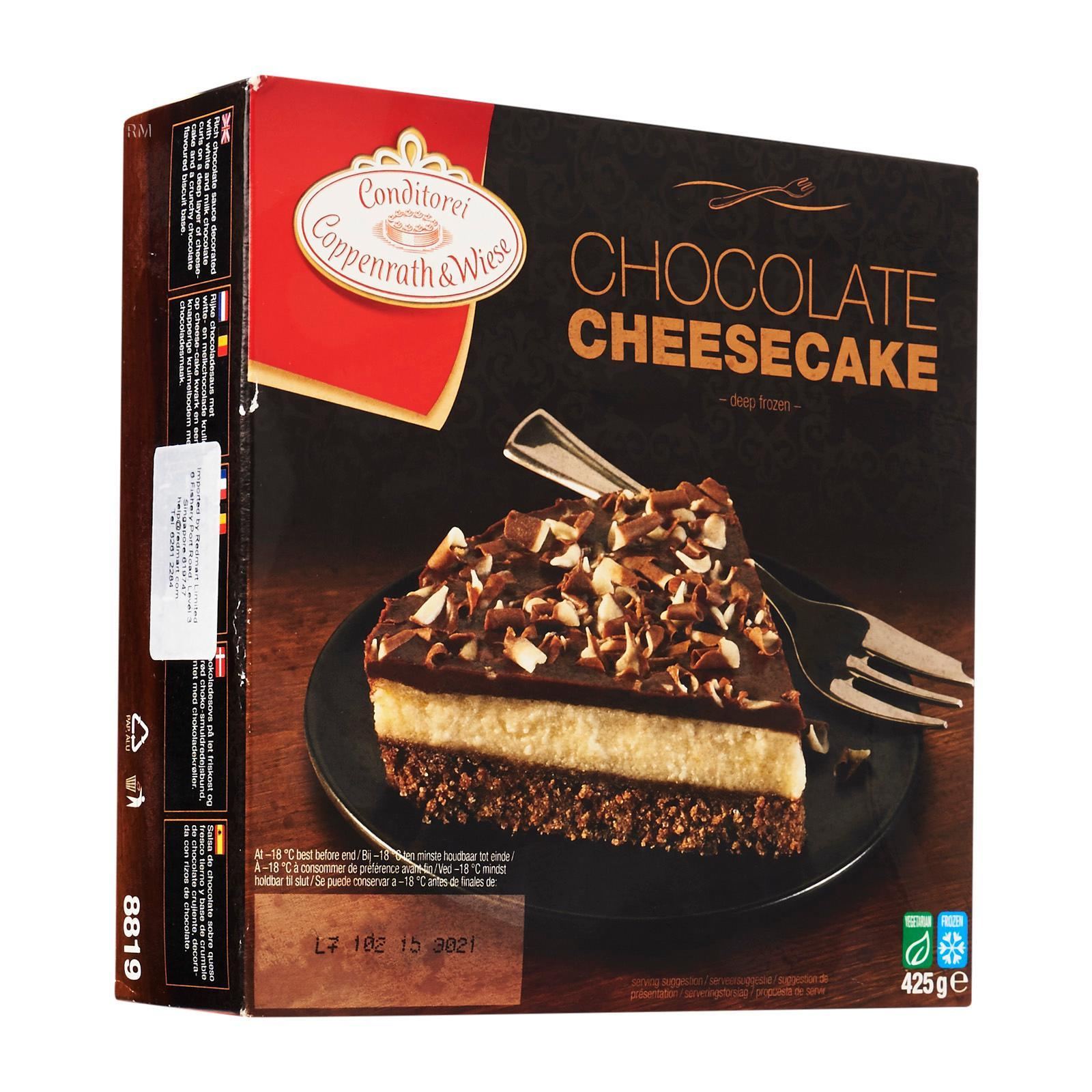 Conditorei Coppenrath & Wiese Chocolate Cheesecake - Frozen