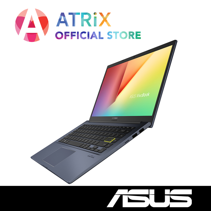 【Same Day Delivery】ASUS VivoBook 14 2020〖Free Office 2019〗Ultra Slim-1.4Kg | i7-10510 | 8GB DDR4 | 1TB PCIe SSD | MX330 Graphics | Win10 Home | 2Y Asus Warranty | Ready Stock, Delivery Today | X413FP-EB109T