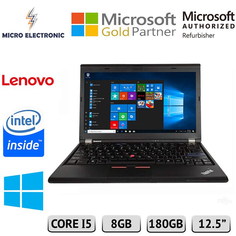 Lenovo Thinkpad X230 Business Laptop Notebook 12.5 Intel Core i5 8GB 180GB SSD Windows 10 Refurbished PC Computer Digital Electronics