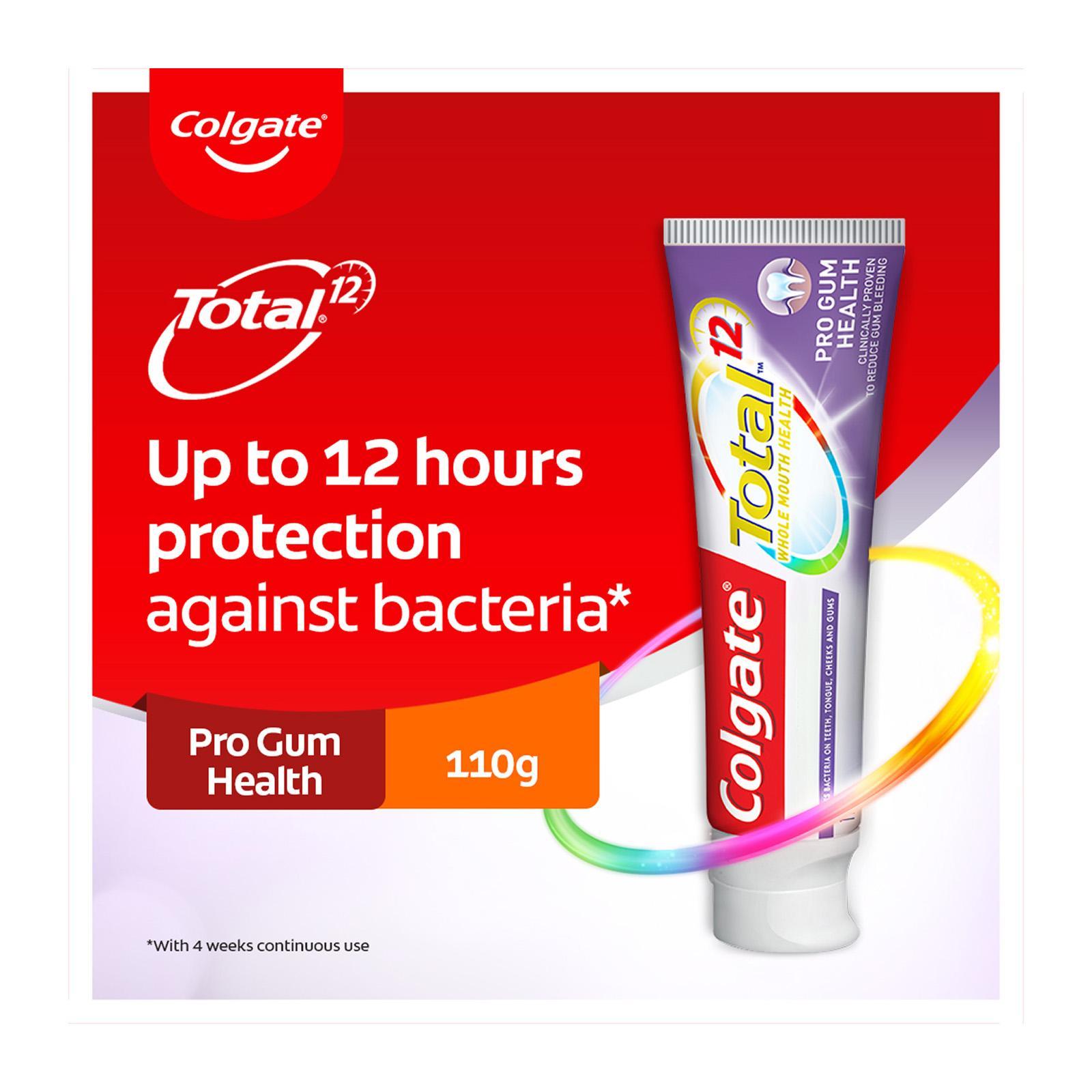 Colgate Total Pro Gum Health Antibacterial Toothpaste 110g