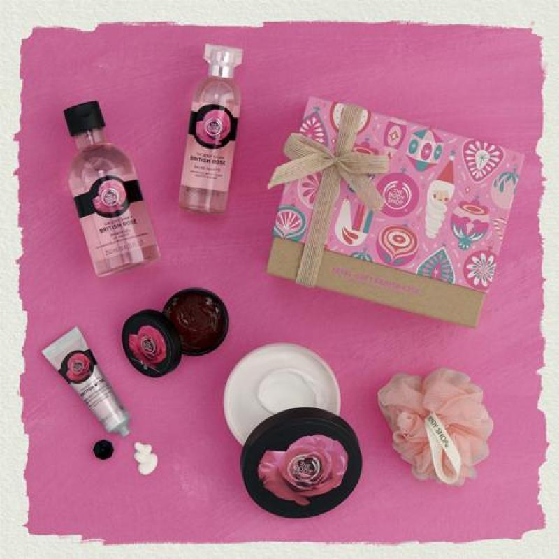 Buy The Body Shop Petal-Soft British Rose Premium Collection Singapore