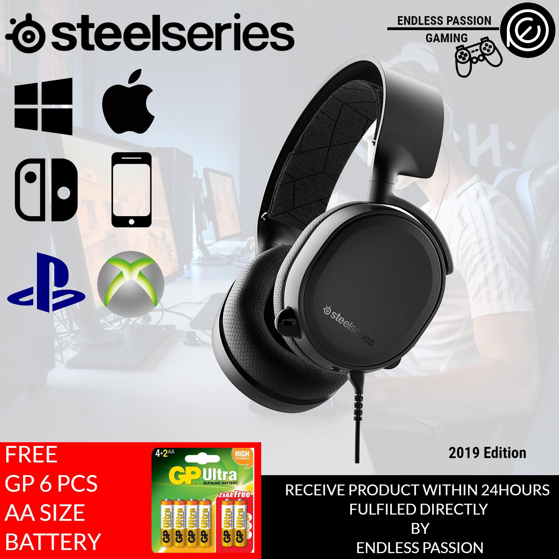 steelseries arctis 3 console edition on pc