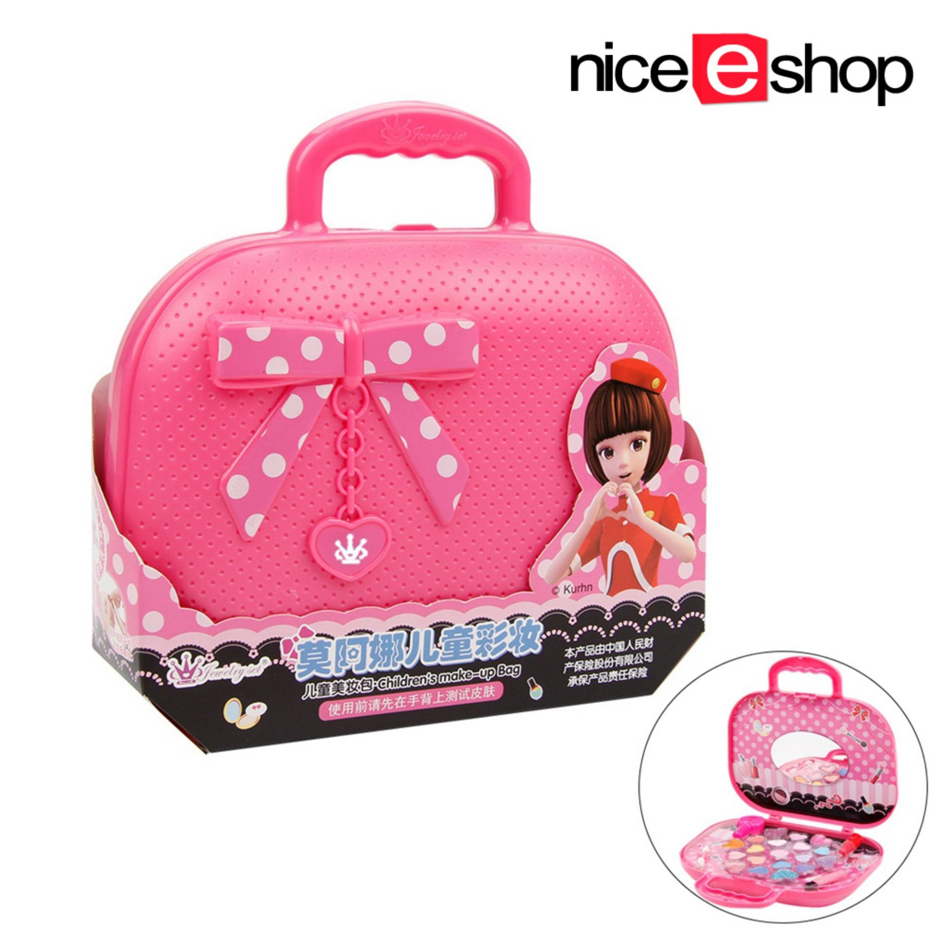 b5de8af4917d niceEshop Girl Cosmetic Set Princess Makeup,Girls Makeup Kit,Fold Out  Makeup Palette with Mirror and Secure Close - Safety Tested- Non Toxic