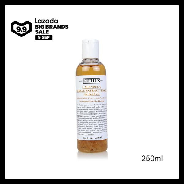 Buy Kiehls Calendula Herbal Extract Alcohol-Free Toner 250ml Singapore