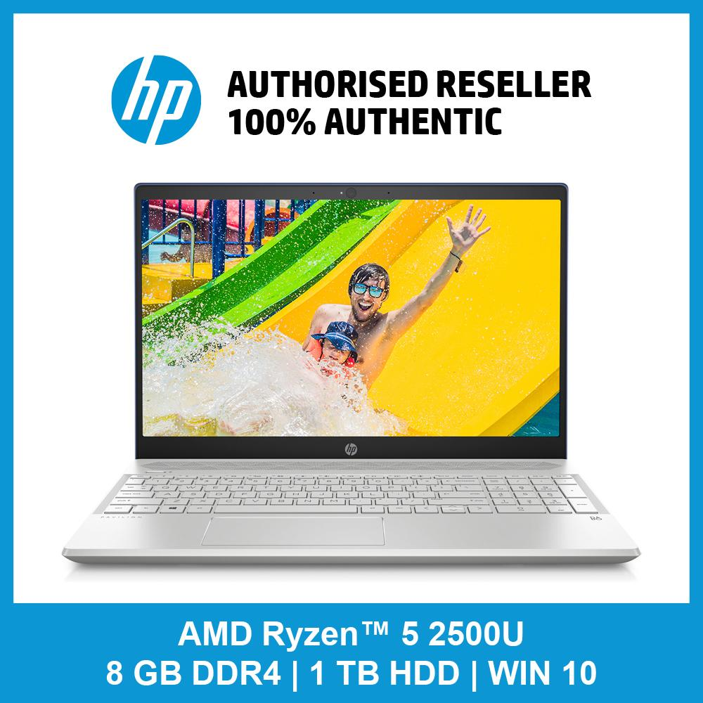 HP Pavilion - 15-cw0028au / AMD Ryzen™ 5 2500U Quad-Core / 8 GB / 1 TB 5400 rpm SATA / 128 GB M.2 SSD