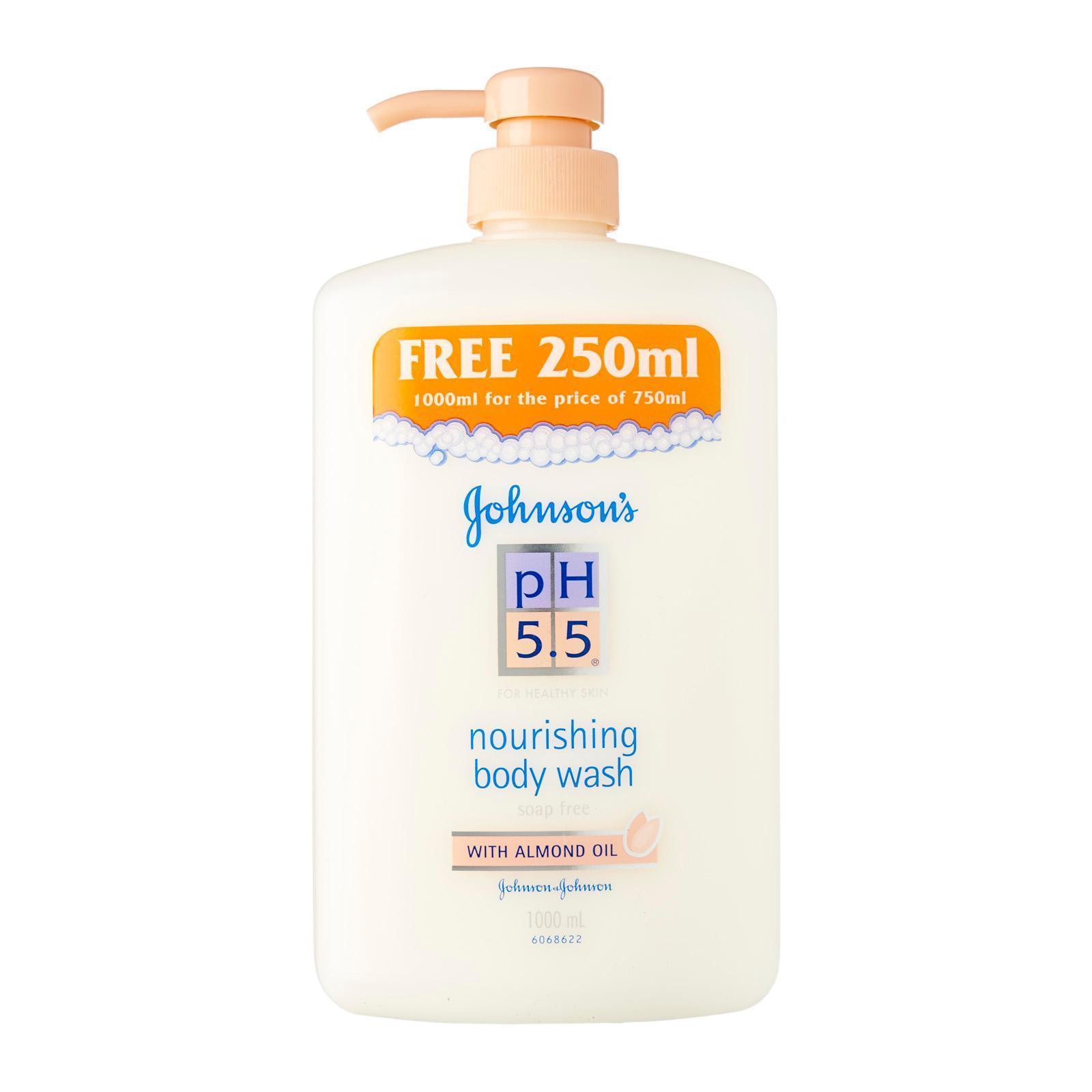 pH 5.5 Nourishing Body Wash With Almond Oil
