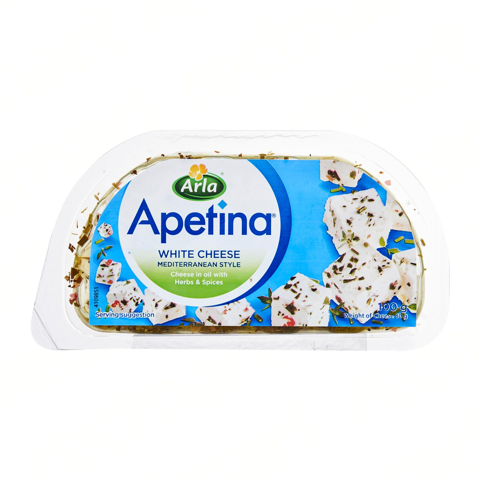ARLA Apetina Feta With Herbs & Spices 100g