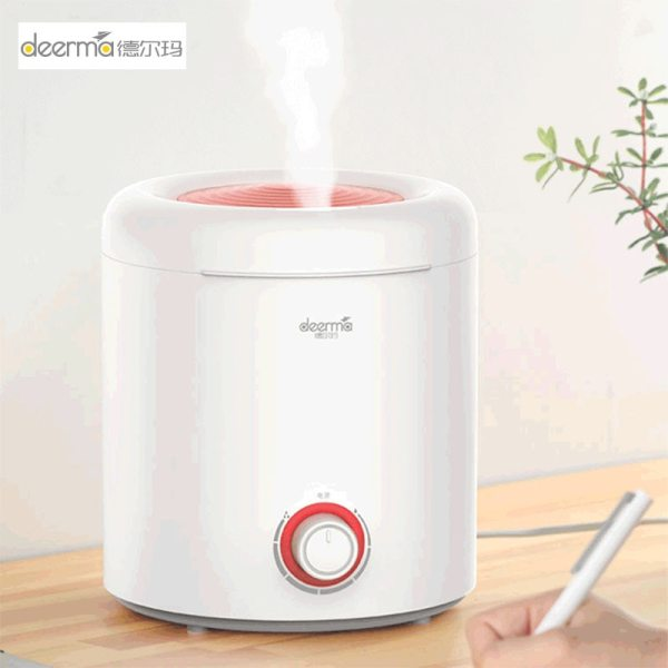 Deerma DEM-F300 Household Air Humidifier Ultrasonic Aroma Mist Maker for Bedroom Mute Mini Office Air Purify Oil Diffuser Singapore