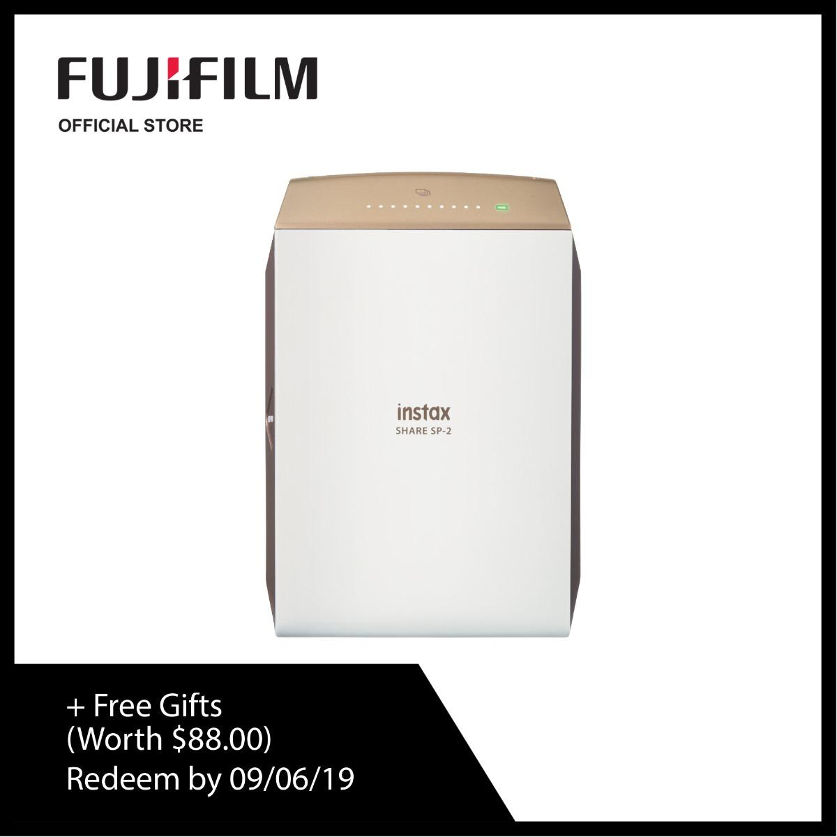 [may Promo] Fujifilm Instax Mini Sp2 Bundle Pack (free Gifts Worth $88) By Fujifilm.