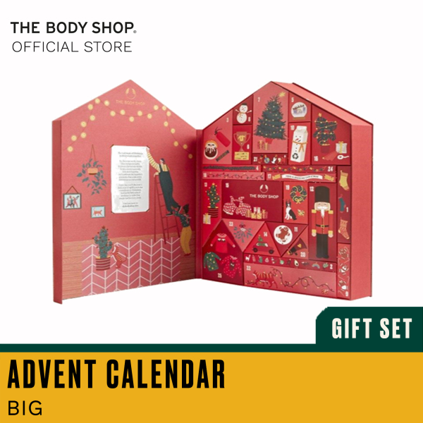 Buy The Body Shop Make It Real Together Big Advent Calendar (Christmas Gift Set) Singapore