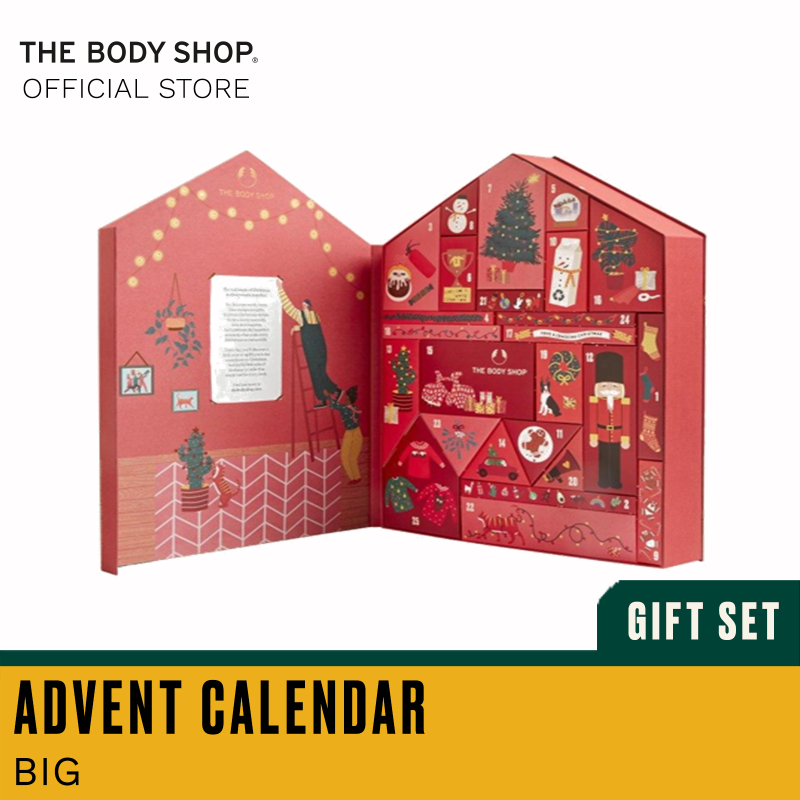 Buy The Body Shop Make It Real Together Big Advent Calendar (Christmas Gift Set) Singapore