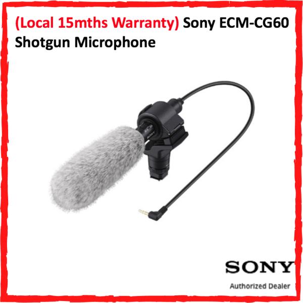 (Local 15mths Warranty) Sony ECM-CG60 Shotgun Microphone Singapore