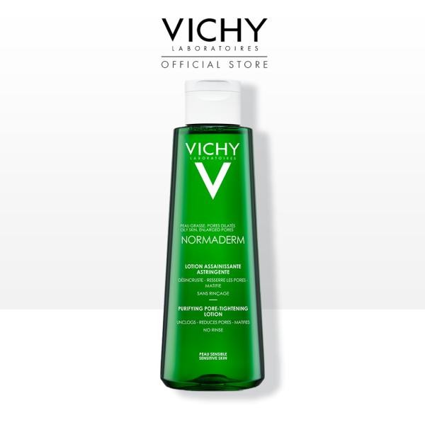 Buy Vichy Normaderm Purifying Pore-Tightening Lotion Toner 200ml Singapore