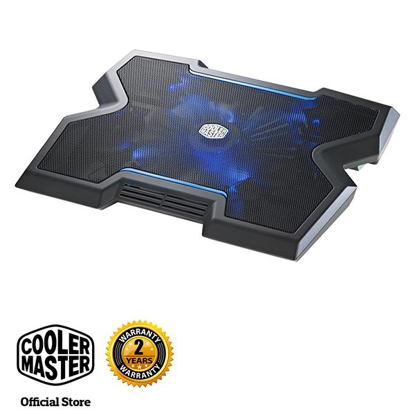 Cooler Master Notepal X3 200mm Blue LED Fan Gaming Notebook Cooler
