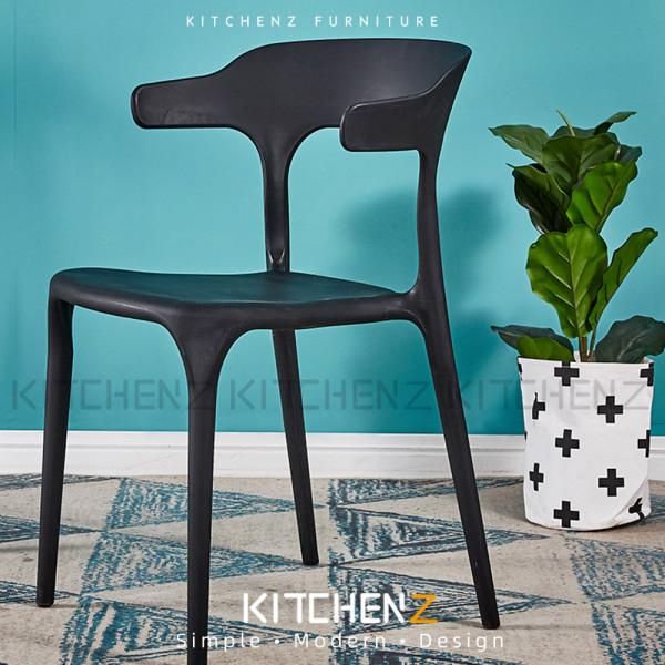 Homez Designer Chair with Comfort Arm Rest & Back Rest-HMZ-DC-A363