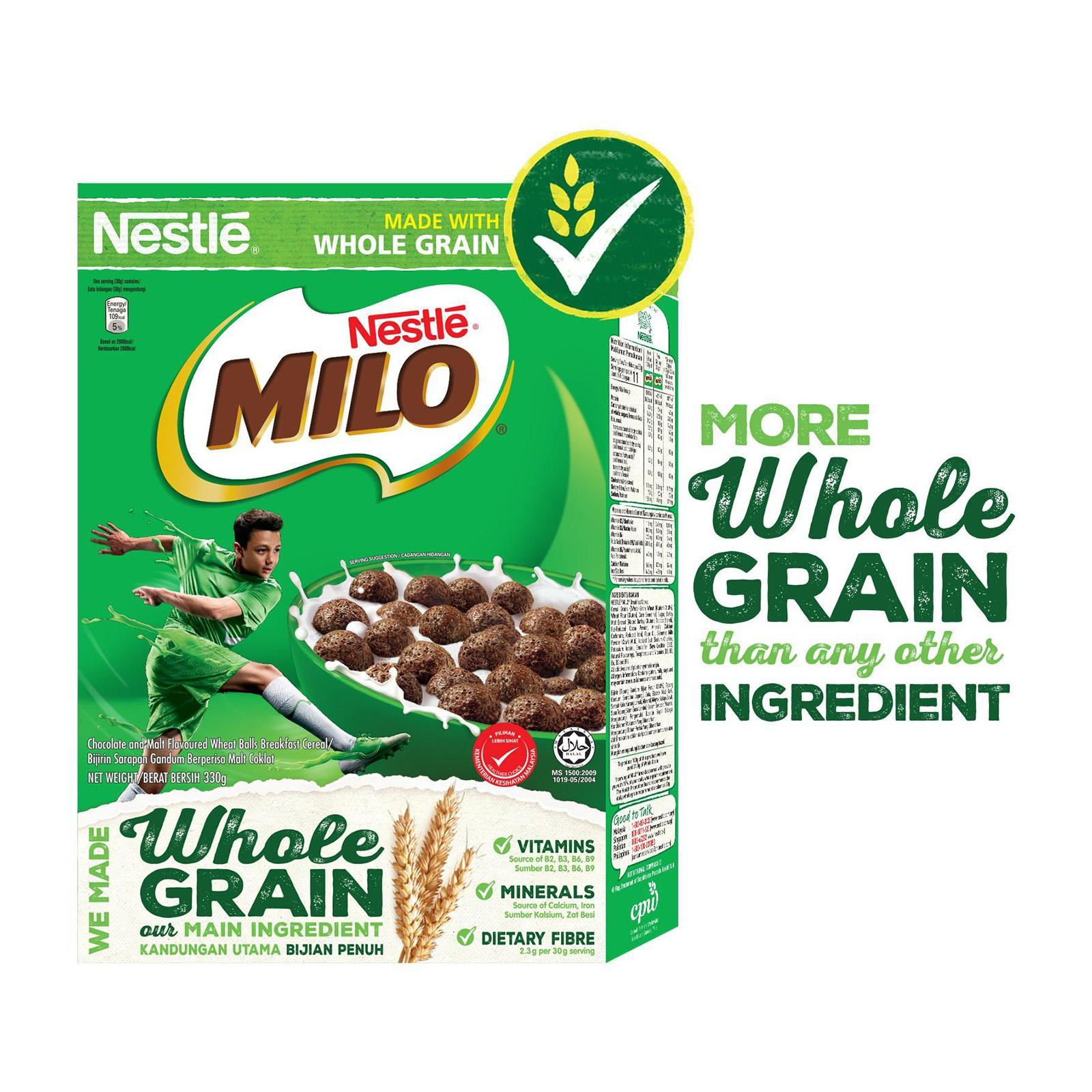 NESTLE MILO Breakfast Cereal With Whole Grain