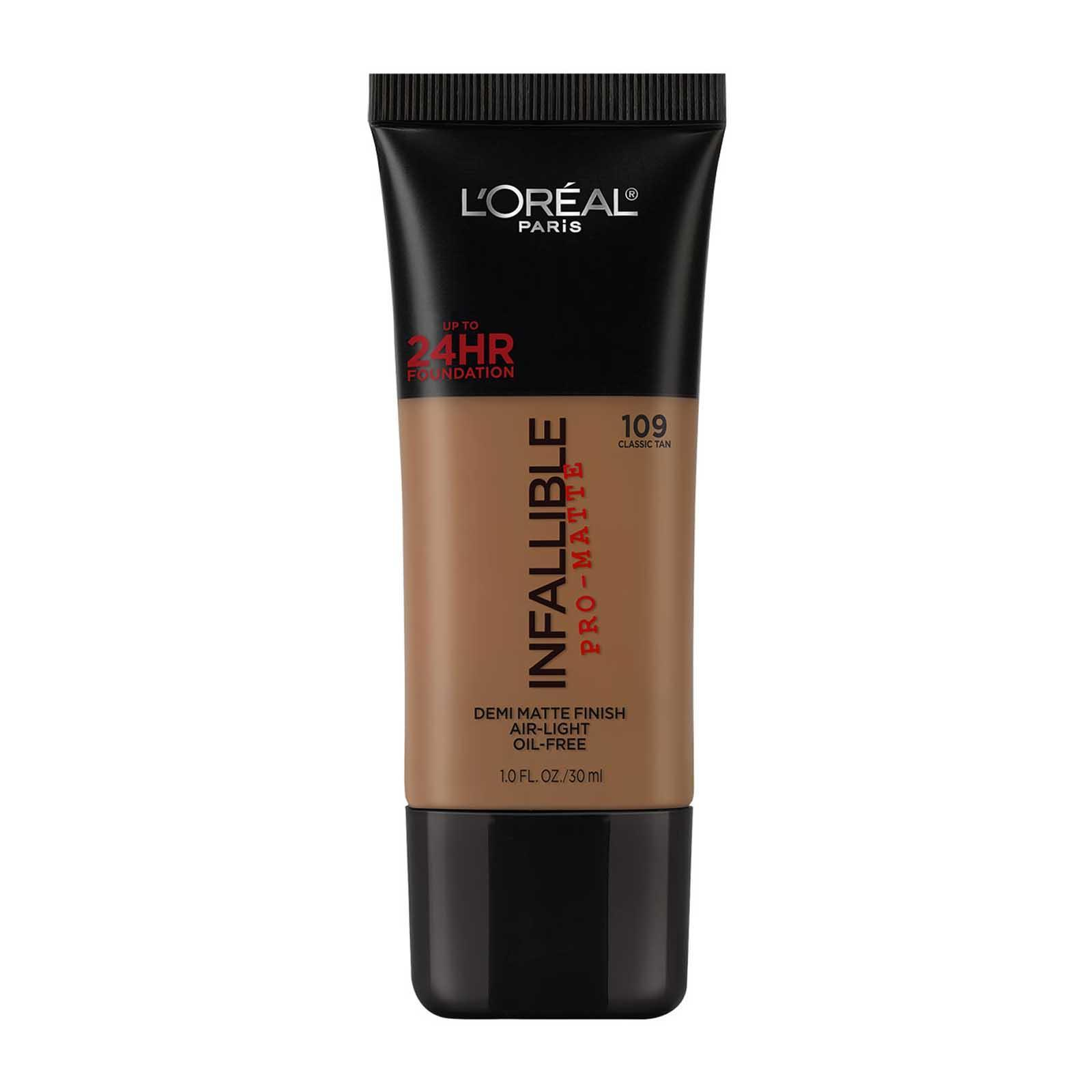 L'Oreal Paris Infallible Pro Matte Foundation 109 - Classic Tan