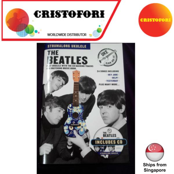 Strum Along Ukulele - The Beatles (Book with CD)