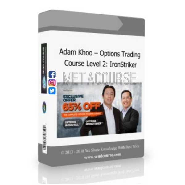 Adam Khoos Piranha Profits : Options Trading Course Level 2 - Ironstriker