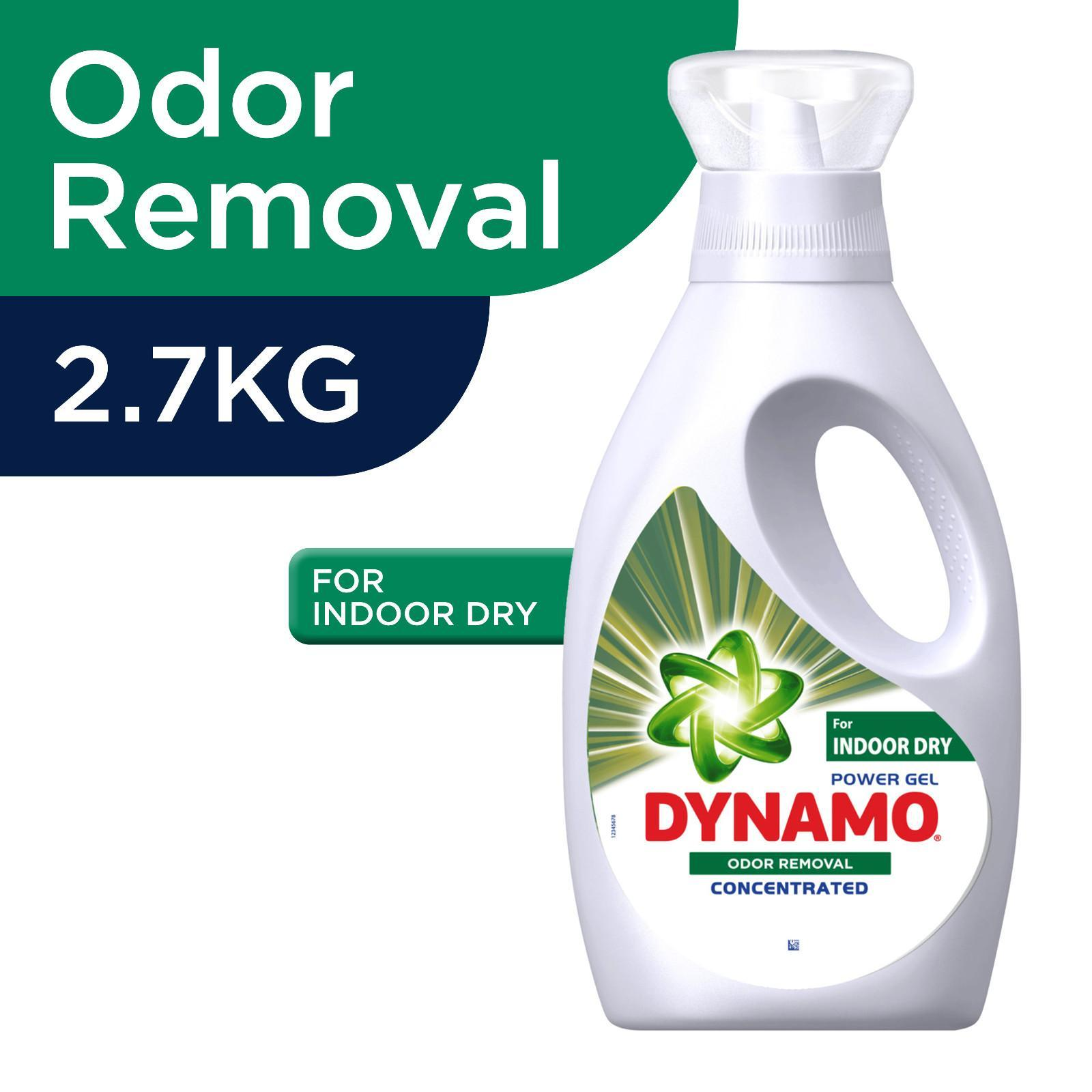Dynamo Power Gel Odor Removal For Indoor Dry Laundry Detergent