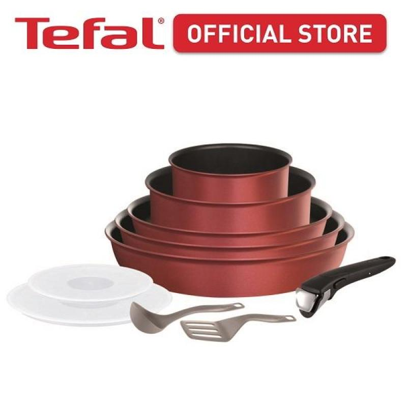 Tefal Ingenio Performance Red 10pc set L65993 Singapore