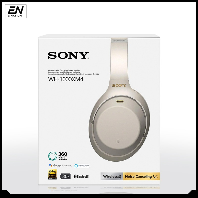 Sony WH-1000XM4 Bluetooth Over-Ear Noise Cancelling Headphones With 1 Year Local Warranty (Ready Stock Ship Out In 24Hours) Singapore