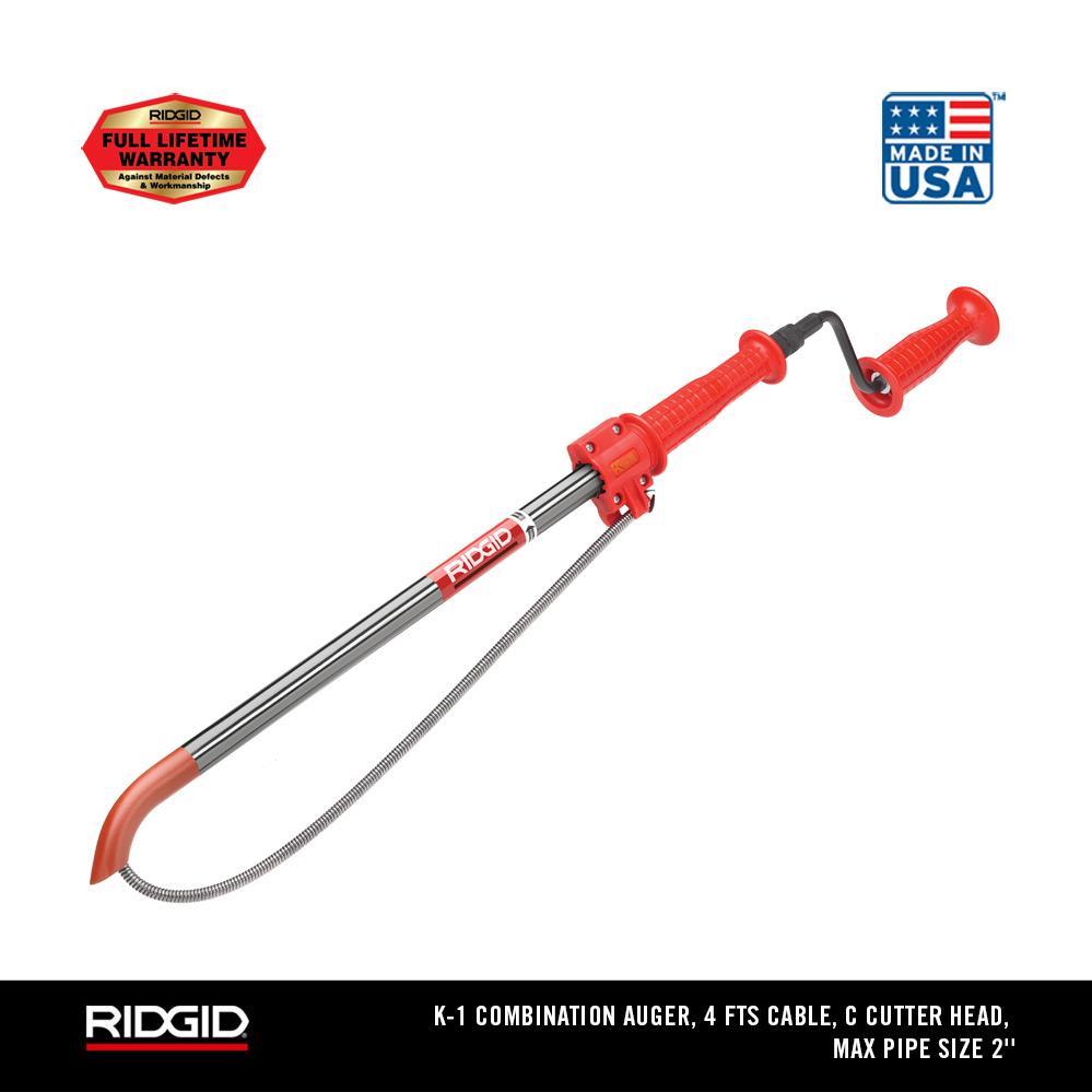 RIDGID  K-1 Combination Toilet Auger