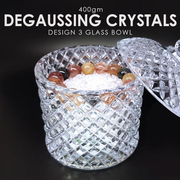 Degaussing Crystals With Glass Bowl Feng Shui By ShopOnLineLah (Feng Shui)
