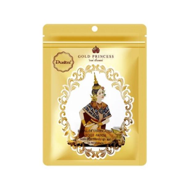 Buy 3 Pack Original Thailand Gold Princess Royal Detoxification Foot Patch (15 Pair) Singapore