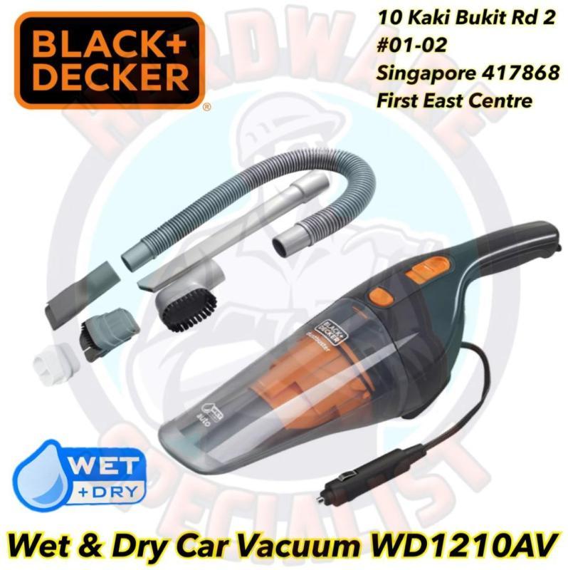 Black And Decker WD1210AV 12V Wet & Dry Car Vacuum Cleaner Singapore