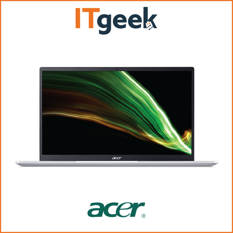 Acer Swift 3 AMD  SF314-43-R3N3 14 FHD IPS   16GB LPDDR4X   512GB PCIe SSD   AMD Radeon   AMD Ryzen 5 5500U    Win 10 Home Laptop