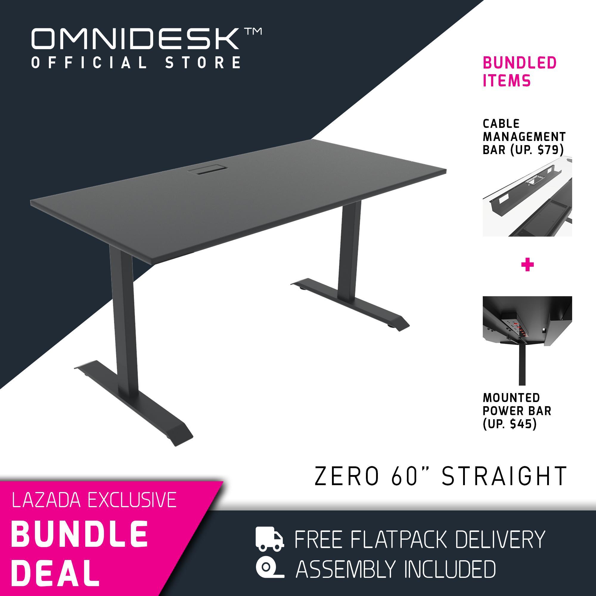 OMNIDESK ZERO Gaming Desk (Fixed Height)
