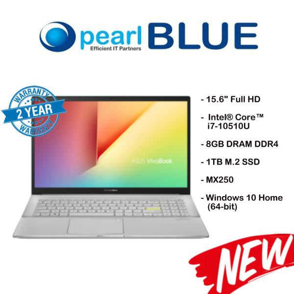 ASUS VivoBook S15 S533FL-BQ174T / i7-10510U / 8GB DRAM DDR4 / 1TB M.2 SSD / MX250 (Gaia Green)