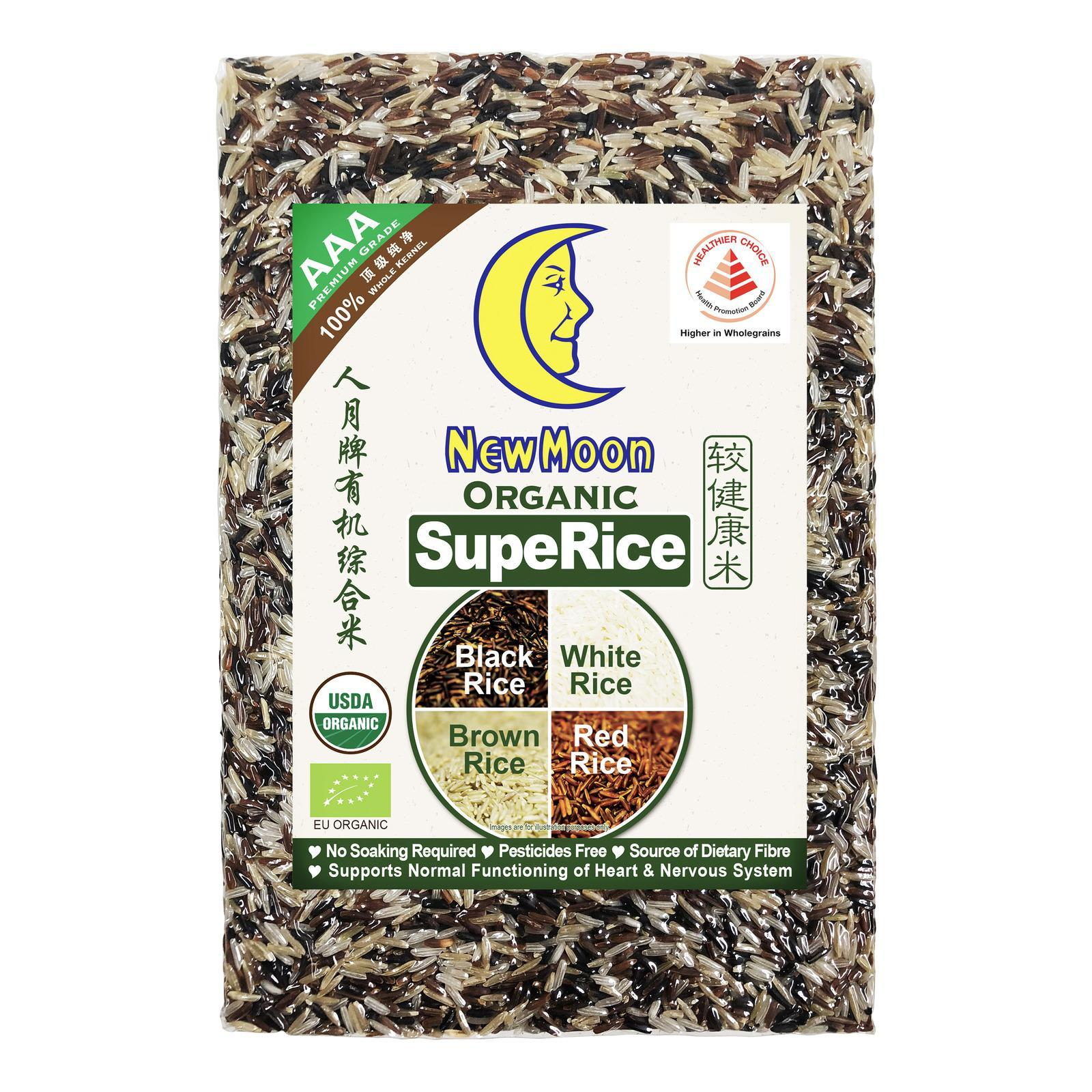 New Moon Organic Superice (4 In 1) Rice By Redmart.