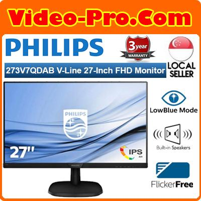 Philips 273V7QDAB V-Line 27-Inch Full HD Widescreen Monitor