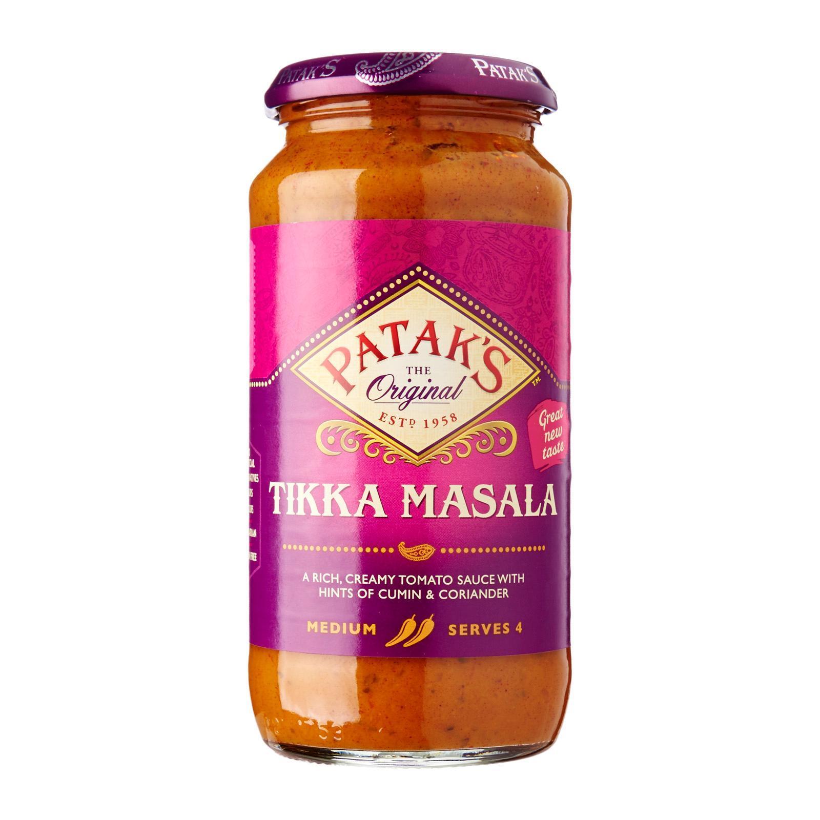 Patak's Original Tikka Masala Sauce Medium