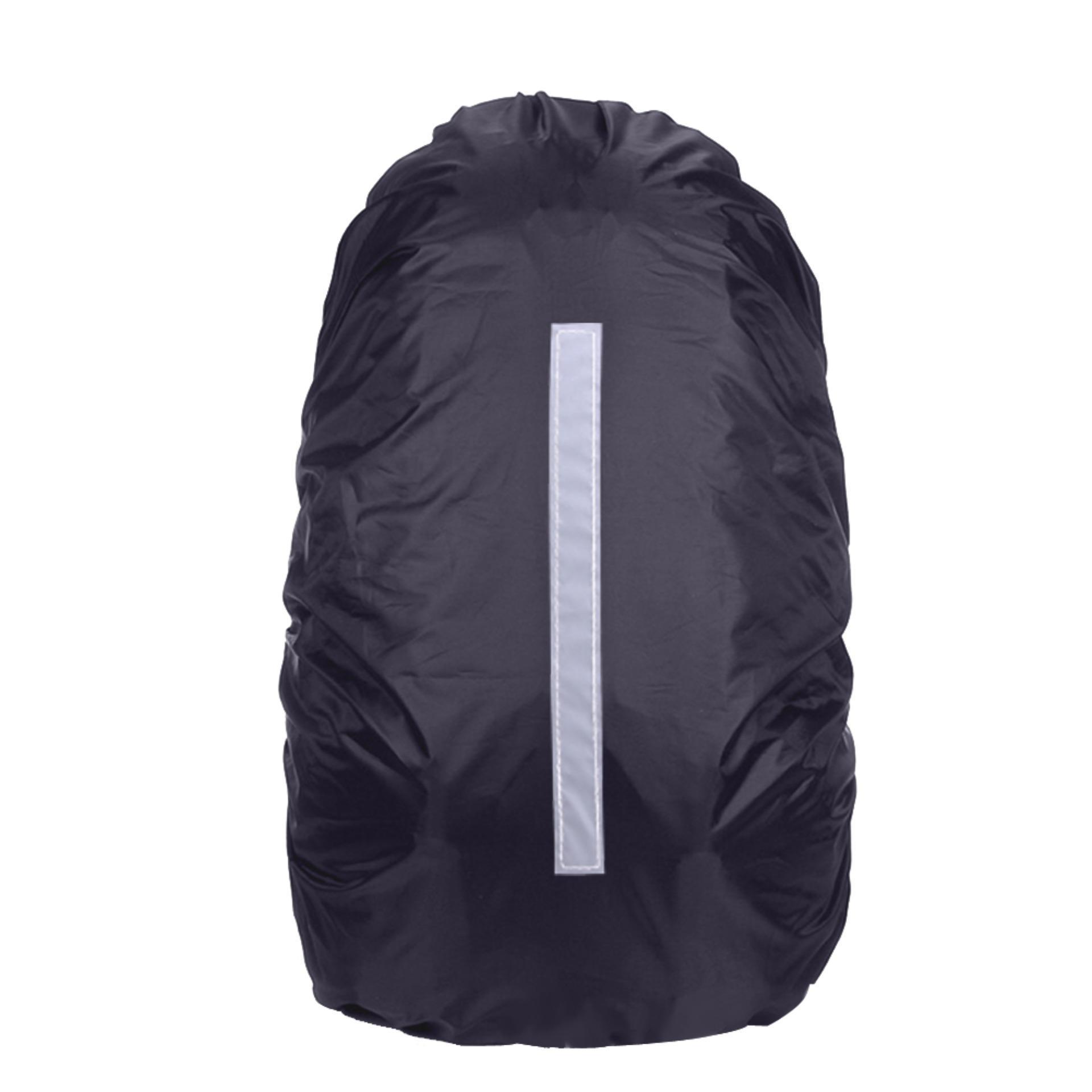 5b0466de43e8 Reflective Waterproof Rain Dust Backpack Bag Cover Safety Travel - intl