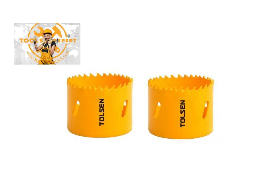 Tolsen Tools by EgHardware, 24mm Bi-metal Holesaw 2 pcs per pkt