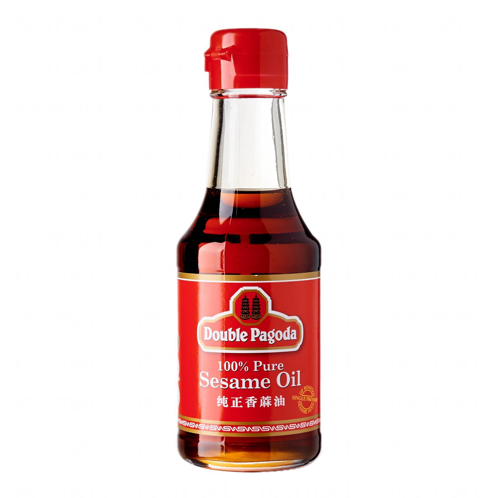 Double Pagoda 100% Pure Sesame Oil By Redmart.