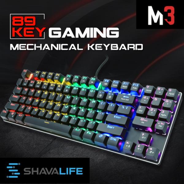 Mechanical Gaming Keyboard 89 Keys Design with Numeric Keypad TKL Mechanical Keyboard for Laptop Computer PC Macbook Mac OS and Windows