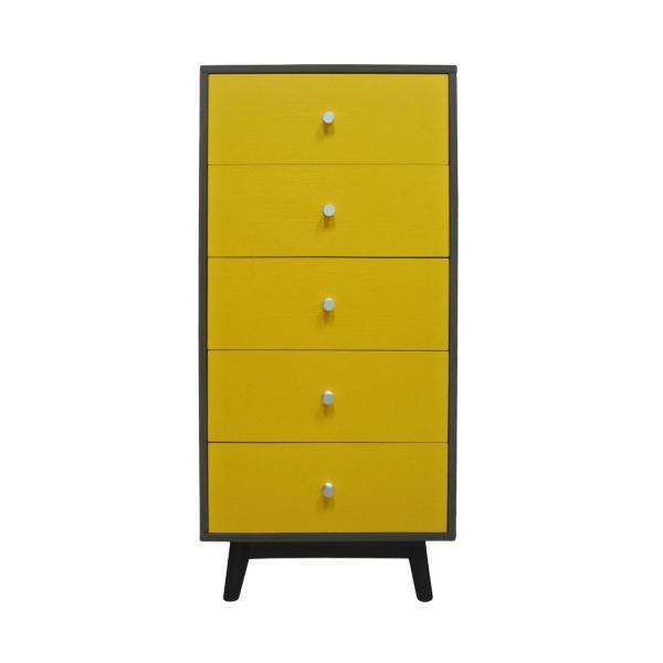 LIVING MALL_Castor 1 Chest Of Drawers_FREE DELIVERY